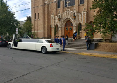 all events limousine service at the church