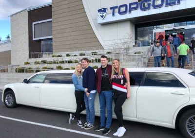 All Events Limousine heading to Top Golf in Portland, OR