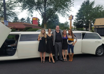 Family outing with all events limousine service in vancouver, wa