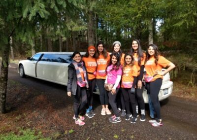 Gaston Tree to Tree Adventure Trip With All Events Limousine Vancouver WA