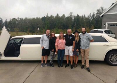 Family-outing-with-all-events-limousine-service-in-camas,-wa