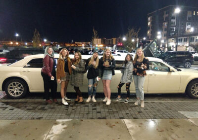 girls night out with all events limousine service